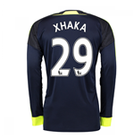 2016-17 Arsenal Long Sleeve 3rd Shirt (Xhaka 29)