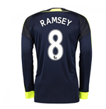 2016-17 Arsenal Long Sleeve 3rd Shirt (Ramsey 8)