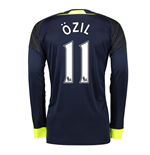2016-17 Arsenal Long Sleeve 3rd Shirt (Ozil 11)