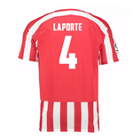2016-17 Athletic Bilbao Home Shirt (Laporte 4) - Kids