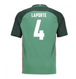 2016-17 Athletic Bilbao Away Shirt (Laporte 4)