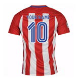 2016-17 Atletico Madrid Home Shirt (Your Name) -Kids