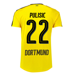 2016-17 Borussia Dortmund Home Shirt  (Pulisic 22)