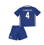 2016-17 Chelsea Home Mini Kit (Fabregas 4)