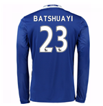 2016-17 Chelsea Home Long Sleeve Shirt (Batshuayi 23) - Kids