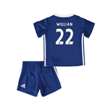 2016-17 Chelsea Home Baby Kit (Willian 22)