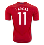 2016-17 Chile Home Shirt (Vargas 11) - Kids