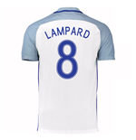 2016-17 England Home Shirt (Lampard 8)