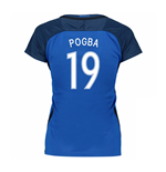 2016-17 France Womans Home Shirt (Pogba 19 )