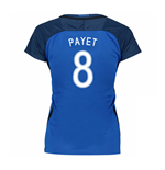 2016-17 France Womans Home Shirt (Payet 8)