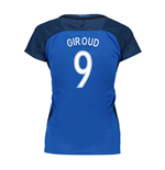 2016-17 France Womans Home Shirt (Giroud 9)