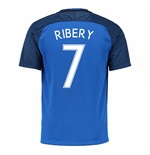 2016-17 France Home Shirt (Ribery 7)