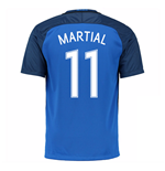 2016-17 France Home Shirt (Martial 11)