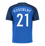 2016-17 France Home Shirt (Koscielny 21)