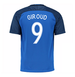 2016-17 France Home Shirt (Giroud 9)