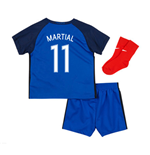 2016-17 France Home Baby Kit (Martial 11)