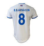 2016-17 Iceland Away Shirt (B.Bjarnason 8)
