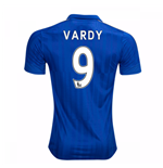 2016-17 Leicester City Home Shirt (Vardy 9)