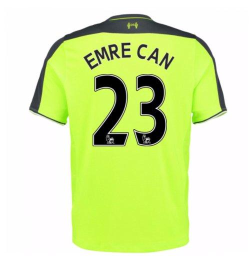 hot sale online 342d1 20a00 2016-17 Liverpool 3rd Shirt (Emre Can 23)