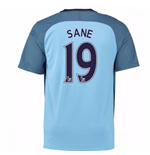 2016-17 Man City Home Shirt (Sane 19)
