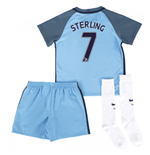 2016-17 Man City Home Mini Kit (Sterling 7)