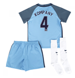 2016-17 Man City Home Mini Kit (Kompany 4)