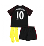 2016-17 Man City Away Baby Kit (Your Name)