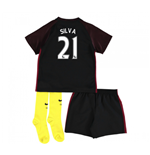 2016-17 Man City Away Baby Kit (Silva 21)