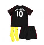 2016-17 Man City Away Baby Kit (Kun Aguero 10)