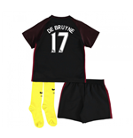 2016-17 Man City Away Baby Kit (De Bruyne 17)