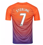 2016-17 Manchester City Third Shirt (Sterling 7) - Kids