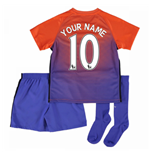 2016-17 Manchester City Third Mini Kit (Your Name)