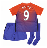 2016-17 Manchester City Third Mini Kit (Nolito 9)