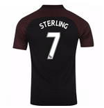 2016-17 Manchester City Away Shirt (Sterling 7)