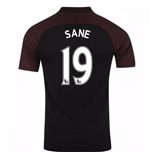 2016-17 Manchester City Away Shirt (Sane 19) - Kids
