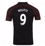 2016-17 Manchester City Away Shirt (Nolito 9) - Kids