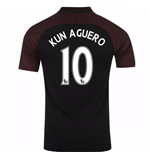 2016-17 Manchester City Away Shirt (Kun Aguero 10) - Kids