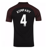 2016-17 Manchester City Away Shirt (Kompany 4)