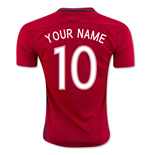 2016-17 Norway Home Shirt (Your Name)