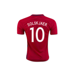 2016-17 Norway Home Shirt (Solskjaer 10)