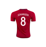 2016-17 Norway Home Shirt (Johansen 8)