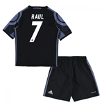 2016-17 Real Madrid Third Mini Kit (Raul 7)