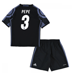 2016-17 Real Madrid Third Mini Kit (Pepe 3)