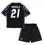 2016-17 Real Madrid Third Mini Kit (Morata 21)