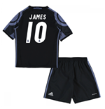 2016-17 Real Madrid Third Mini Kit (James 10)