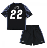 2016-17 Real Madrid Third Mini Kit (Isco 22)