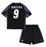 2016-17 Real Madrid Third Mini Kit (Benzema 9)