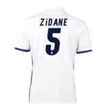 2016-17 Real Madrid Home Shirt (Zidane 5) - Kids