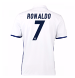 2016-17 Real Madrid Home Shirt (Ronaldo 7) - Kids