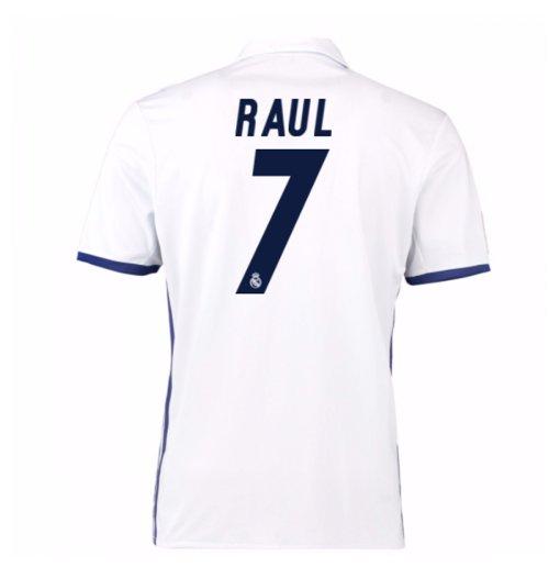 best website 7d151 85a6a 2016-17 Real Madrid Home Shirt (Raul 7)